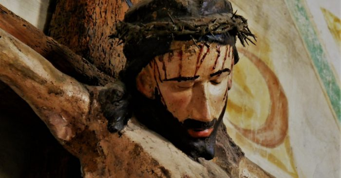 jezus a kereszten