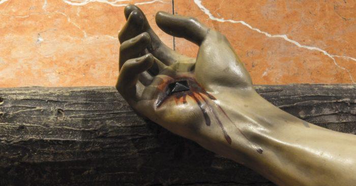 jezus keze
